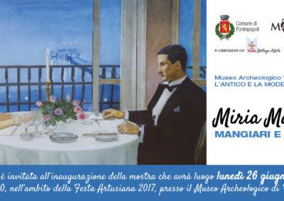 Invito Miria Malandri Festa 2017 - fronte