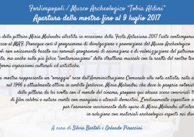 Invito Miria Malandri Festa 2017 - retro