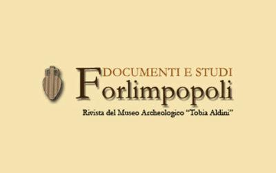 """Presentazione del XXIX volume della rivista """"Forlimpopoli Documenti e studi"""""""