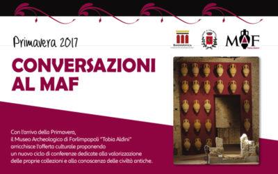 CONVERSAZIONI AL MAF – Primavera 2017