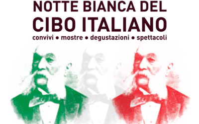 Notte Bianca del Cibo Italiano – sabato 4 agosto 2018