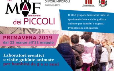 Il MAF dei Piccoli: tutti gli appuntamenti della primavera 2019