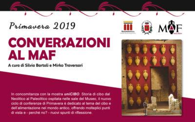 Conversazioni al MAF – Primavera 2019