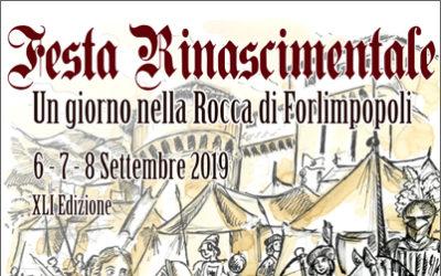 FESTA RINASCIMENTALE Forlimpopoli 6 – 7 – 8 Settembre 2019